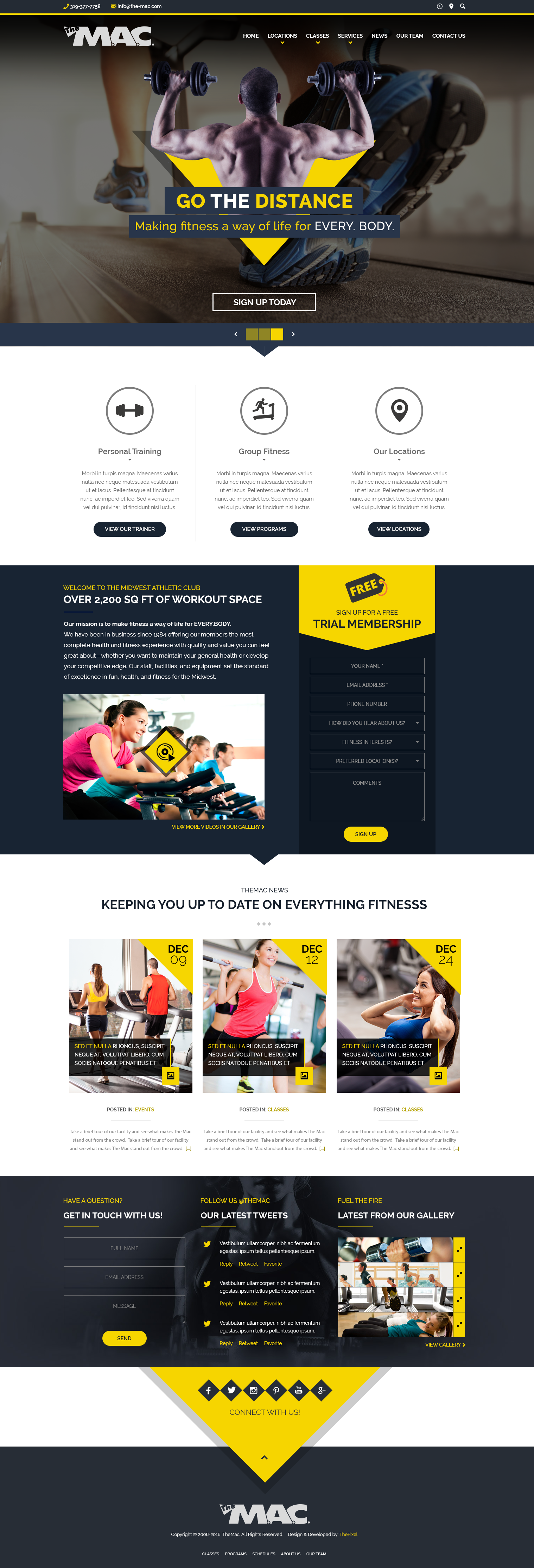 TheMac_Fitness_Gym_Website_Design
