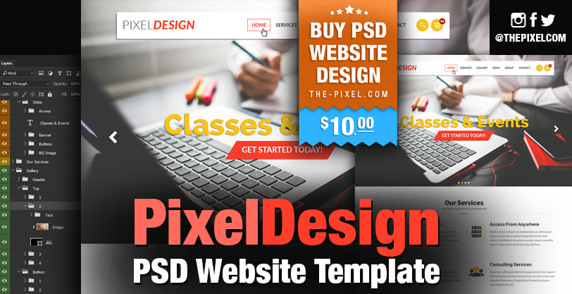 psd-homepage-website-template