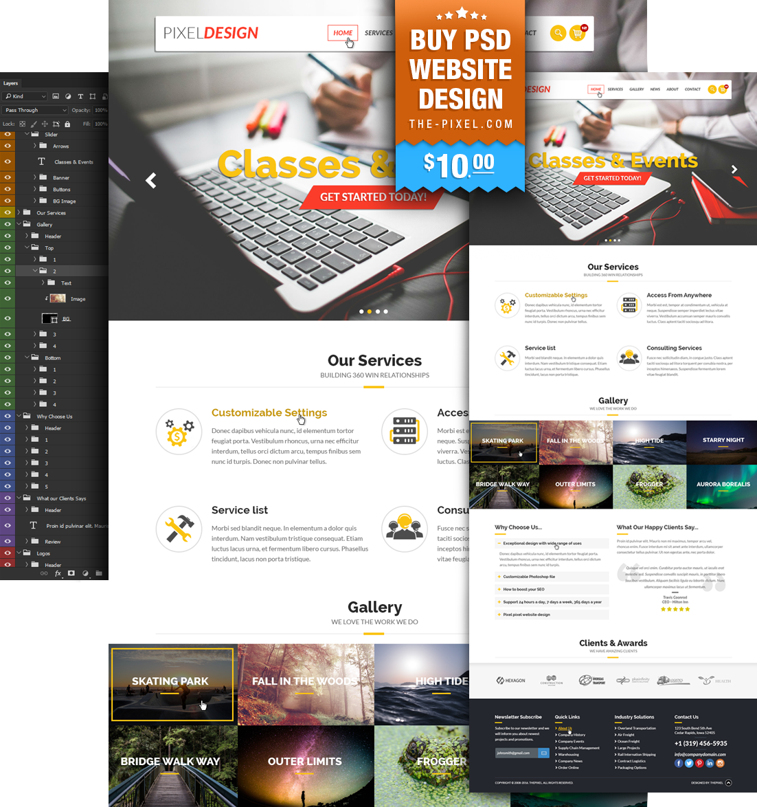 psd-website-design-template