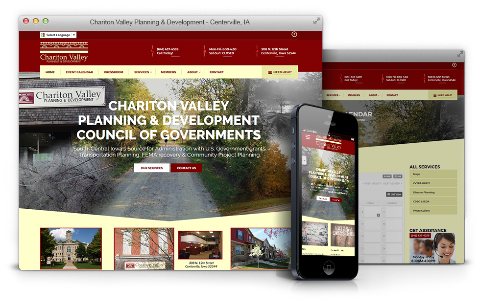 chariton-planning-government-website-design