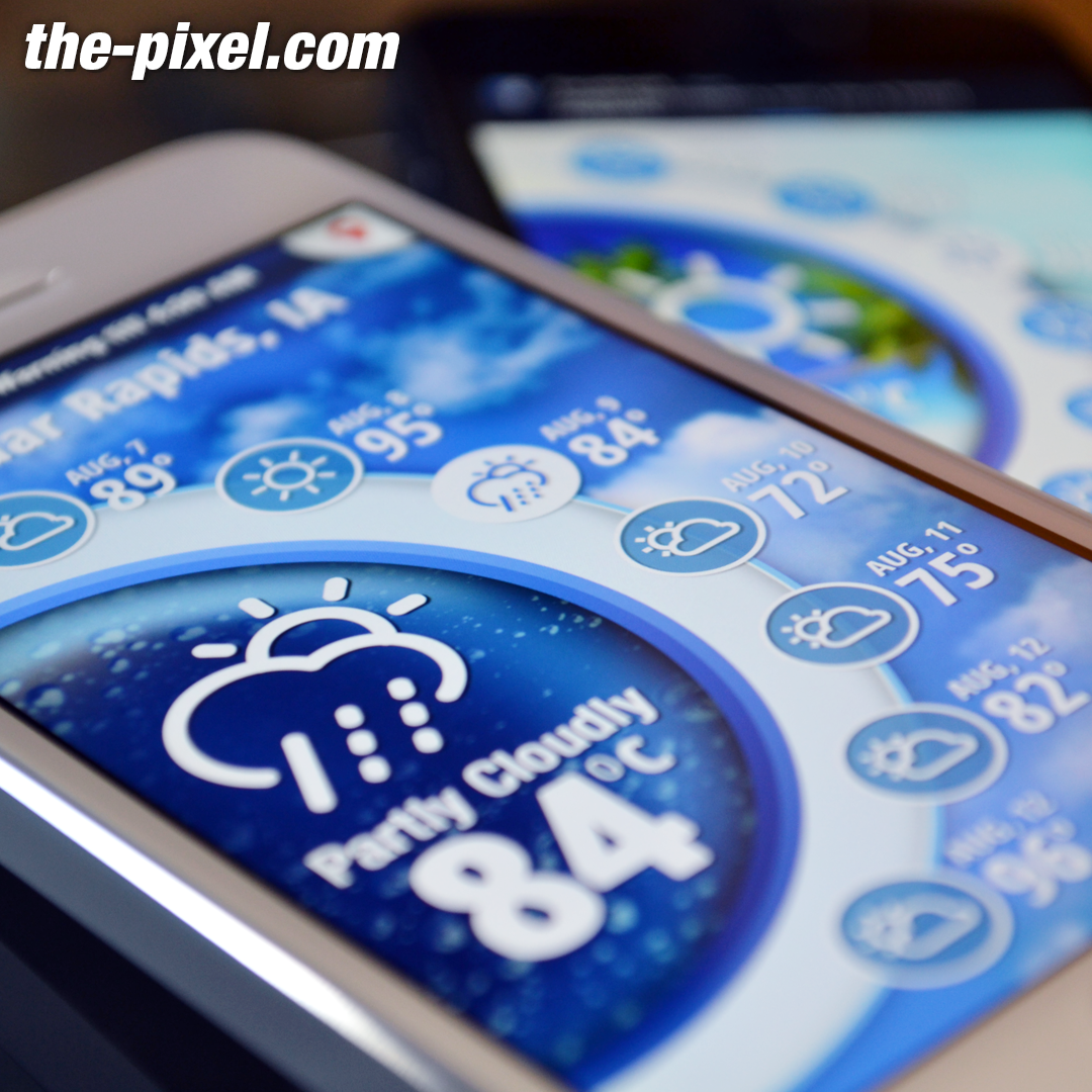 Weather Mobile App UI and UX Design
