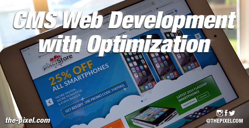 CMS-Web-Development-with-Optimization