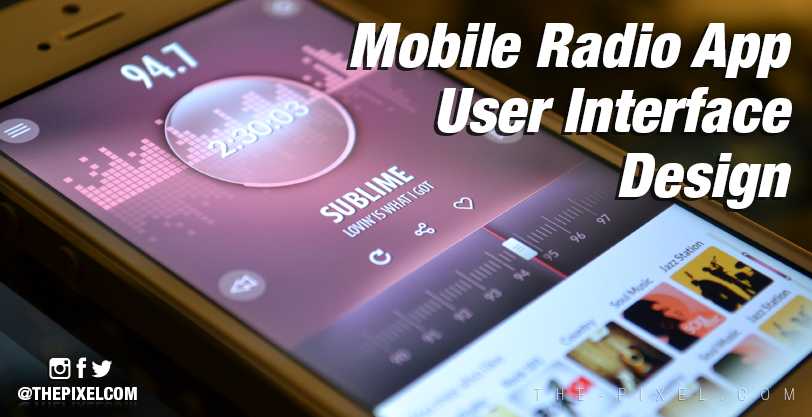 Mobile-Radio-App-User-Interface-Design