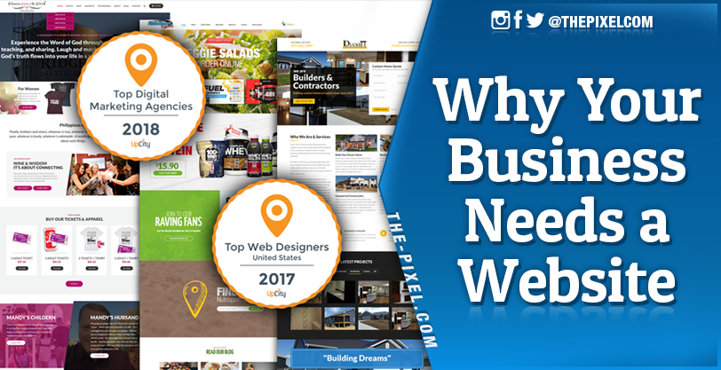 Thepixel Why Your Business Needs A Website Amp Getting Started