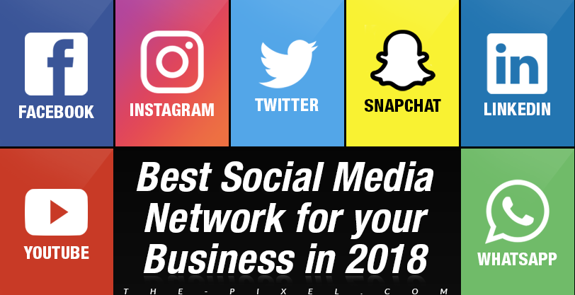 Best Social Media Networks for your Business in 2018