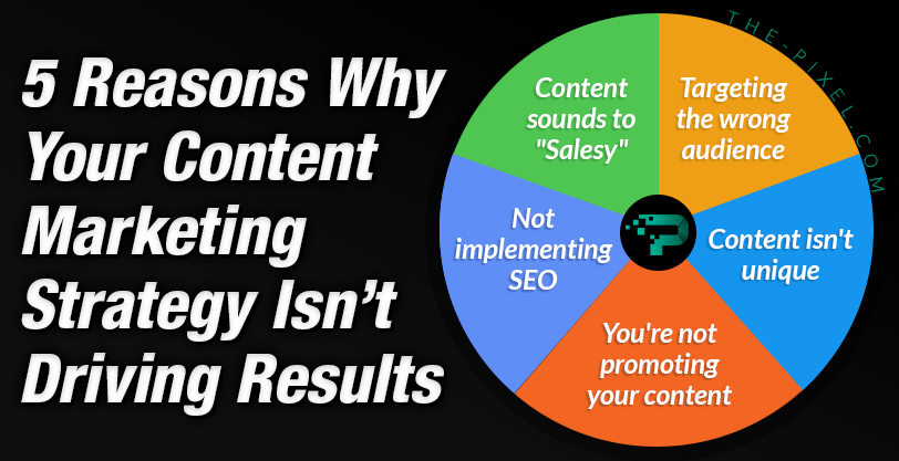 5 Reasons Why Your Content Marketing Strategy Isnt Driving Results