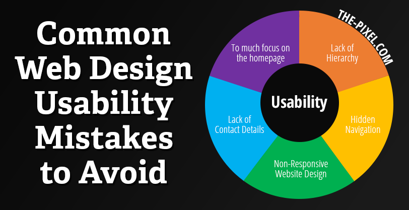 Common Web Design Usability Mistakes to Avoid