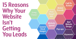 15 Reasons Why Your Website Isn't Getting You Leads