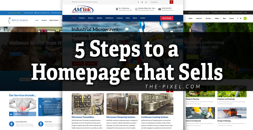 5 Steps to a Homepage that Sells