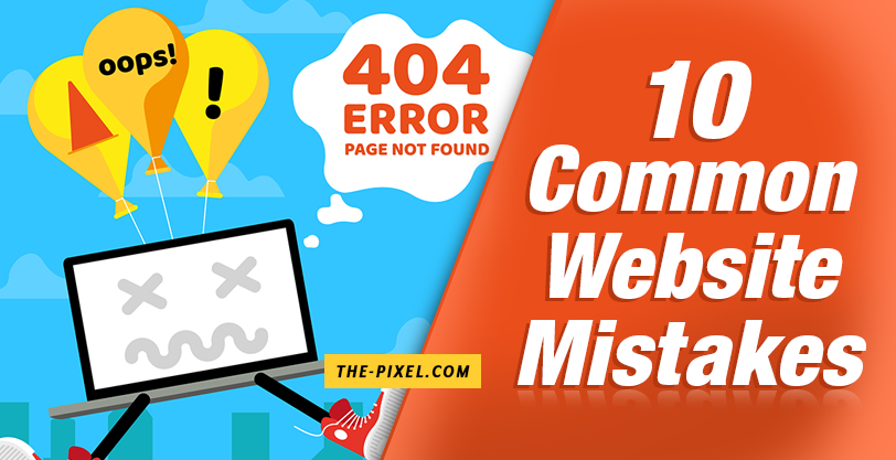 10 Common Website Mistakes