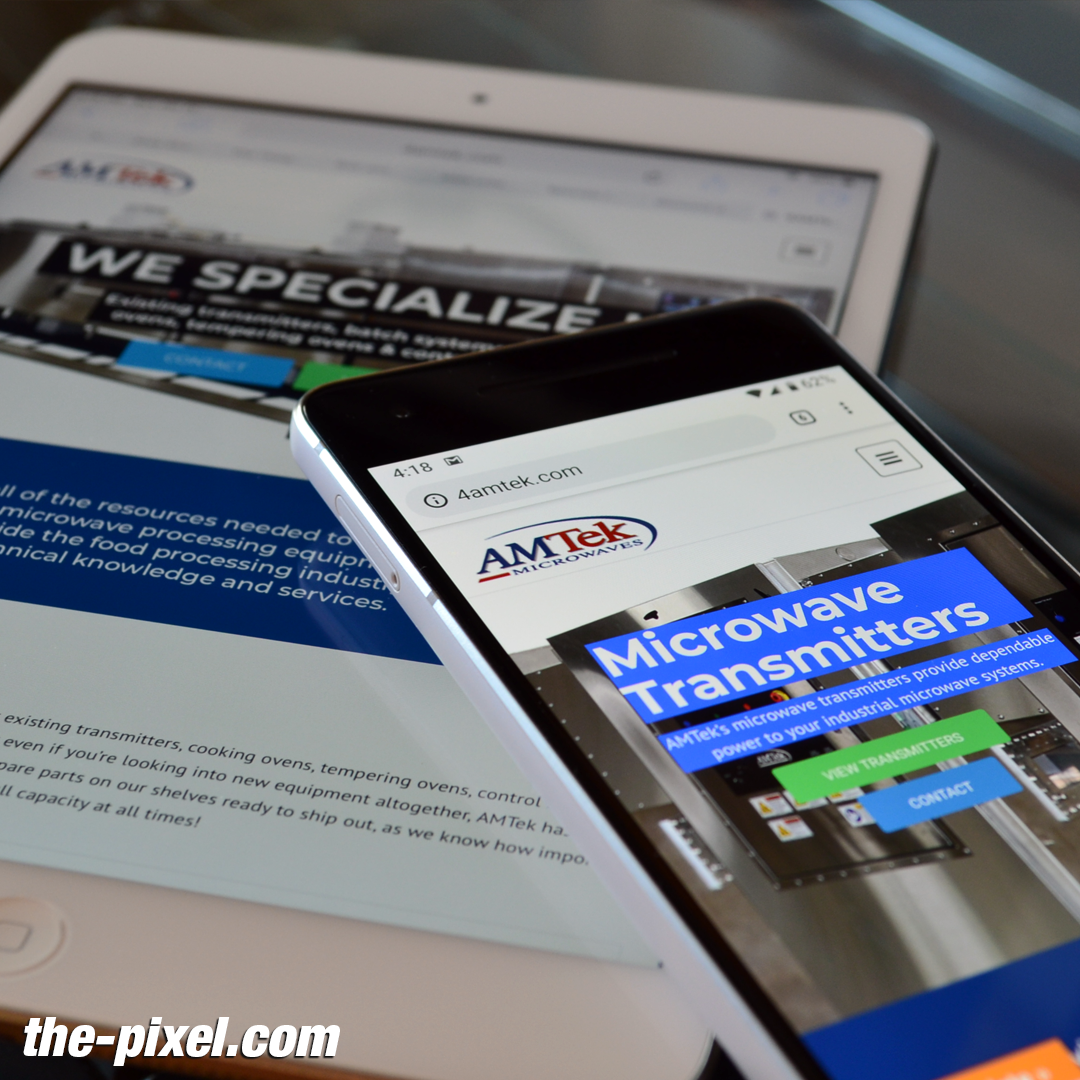 4AMTek Manufacturing Website Design