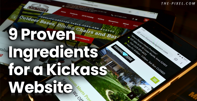 9 Proven Ingredients for a Kickass Website