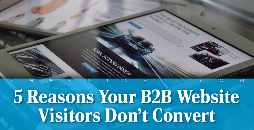 5 Reasons Your B2B Website Visitors Don't Convert