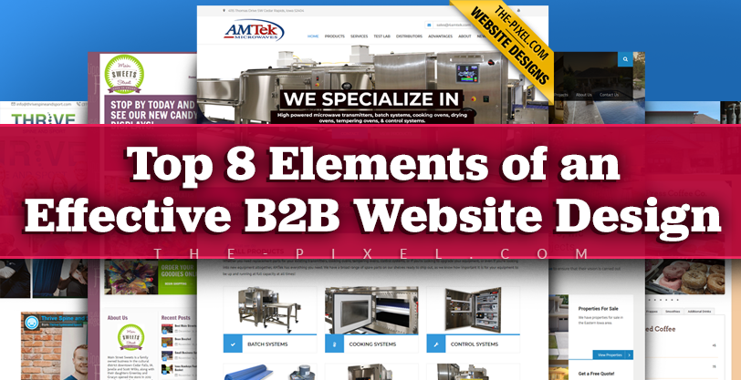 Top 8 Elements of an Effective B2B Website Design