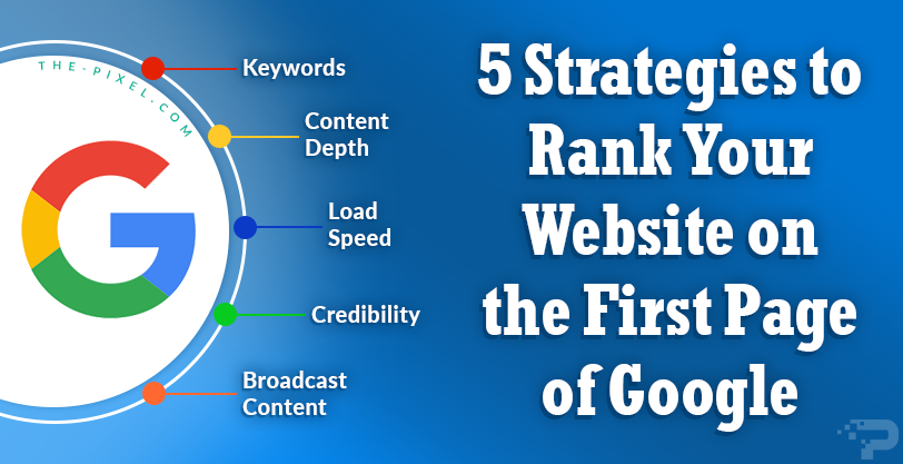 5 Strategies to Rank Your Website on the First Page of Google
