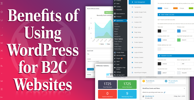 Benefits of Using WordPress for B2C Websites