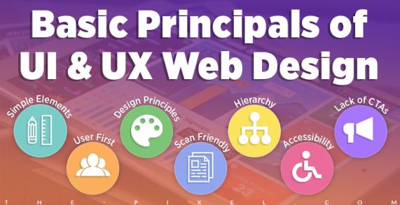 Basic Principals of UI and UX Web Design