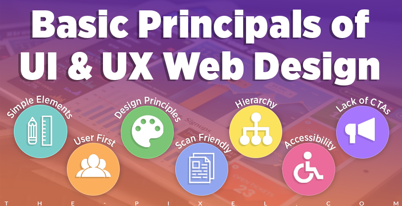 Basic Principals of UI and UX Web Design