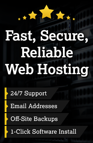 Fast Secure Reliable Website Hosting